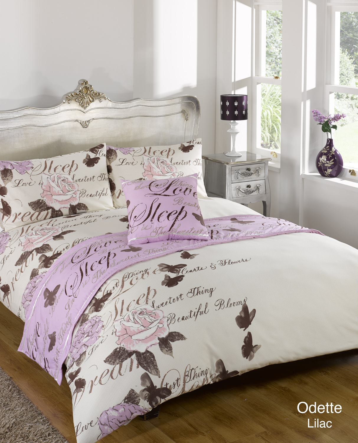 duvet cover with pillow case quilt bedding set bed in a. Black Bedroom Furniture Sets. Home Design Ideas