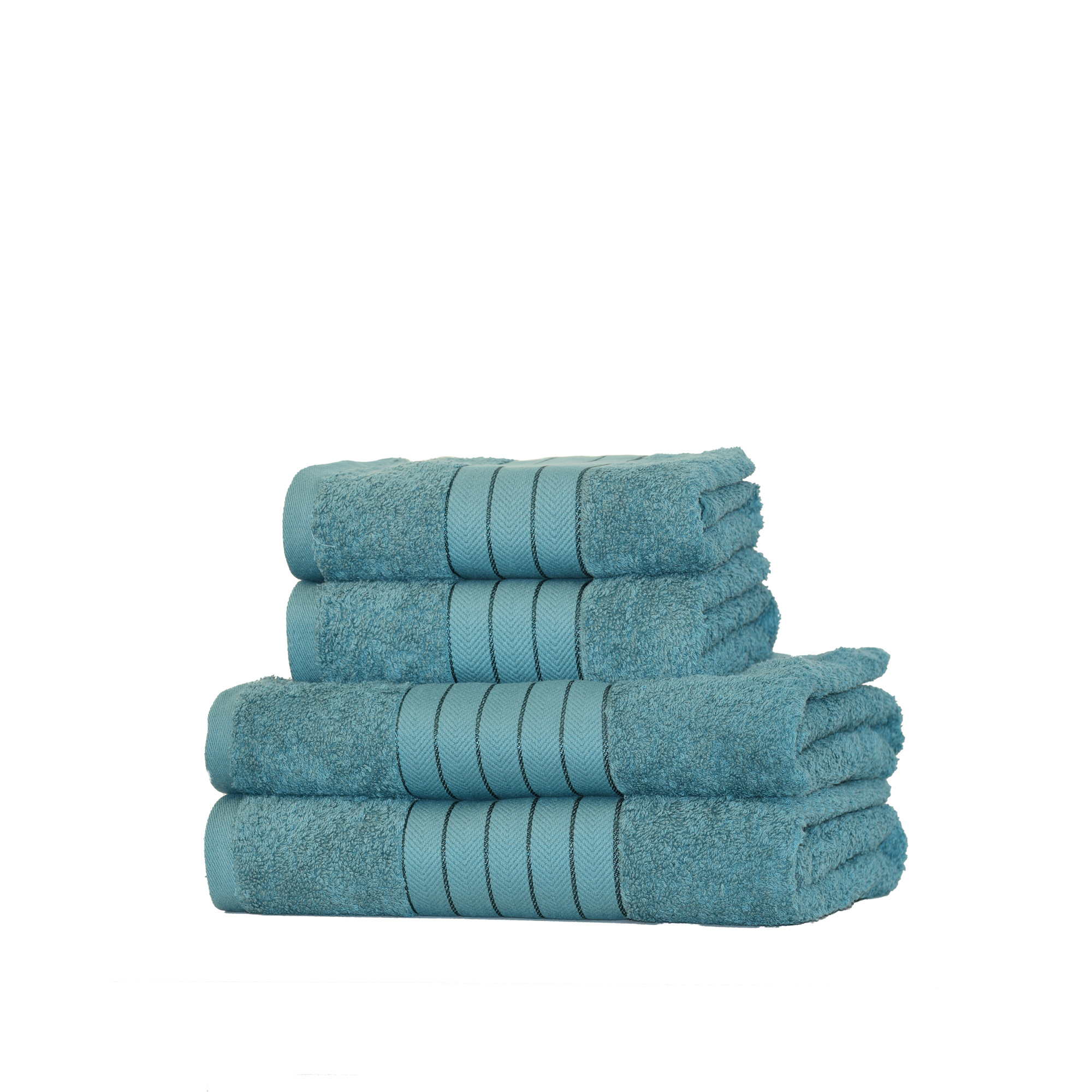 Bathroom Towels Luxury: Luxury 100% Egyptian Cotton 4 Piece Bathroom Towel Bale