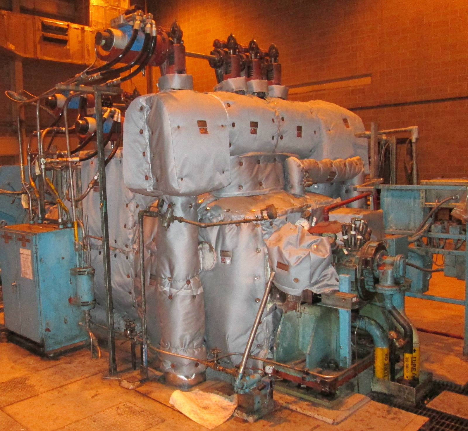 kW BBC 13 8 kV 1450 PSI 950°F Steam Turbine Generator