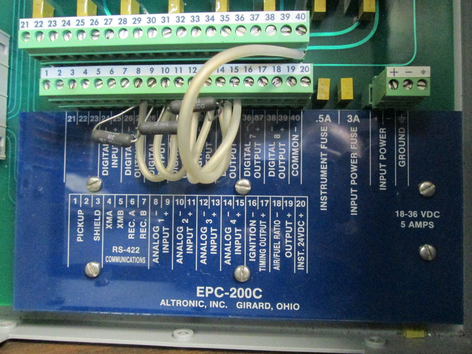 altronic epc c epc engine performance controller epcc altronic epc 200c epc engine performance controller epc200c operator interface ebi0413 0 river city industrial