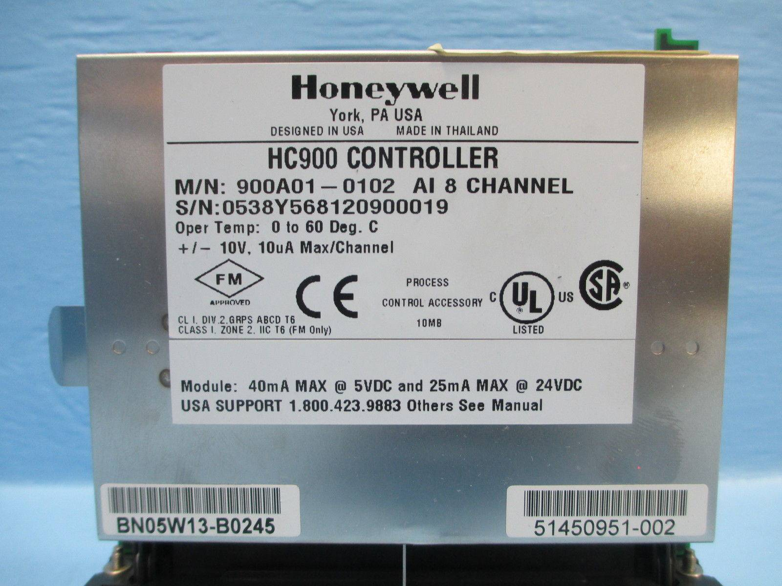 honeywellhc900cont_93644_honeywell_900a01 01029__2 honeywell hc900 controller 900a01 0102 analog input 8 900a010102  at mifinder.co