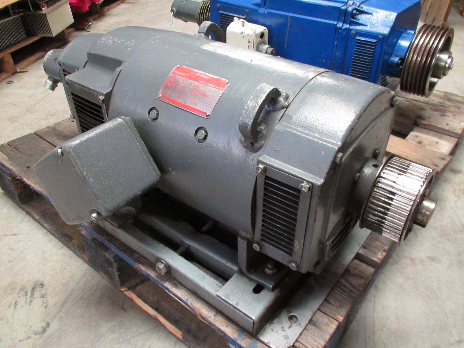 General Electric 20 Hp Dc Motor Cd259at 1750 2300 Rpm 240v