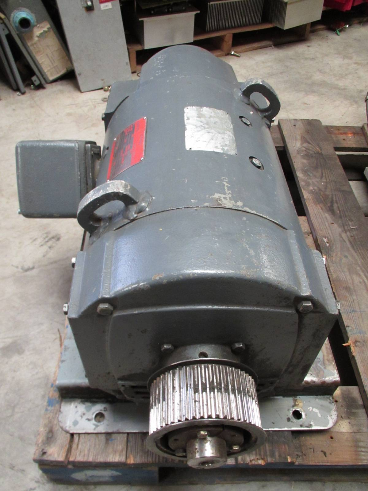 General electric 20 hp dc motor cd259at 1750 2300 rpm 240v for 25 hp dc electric motor