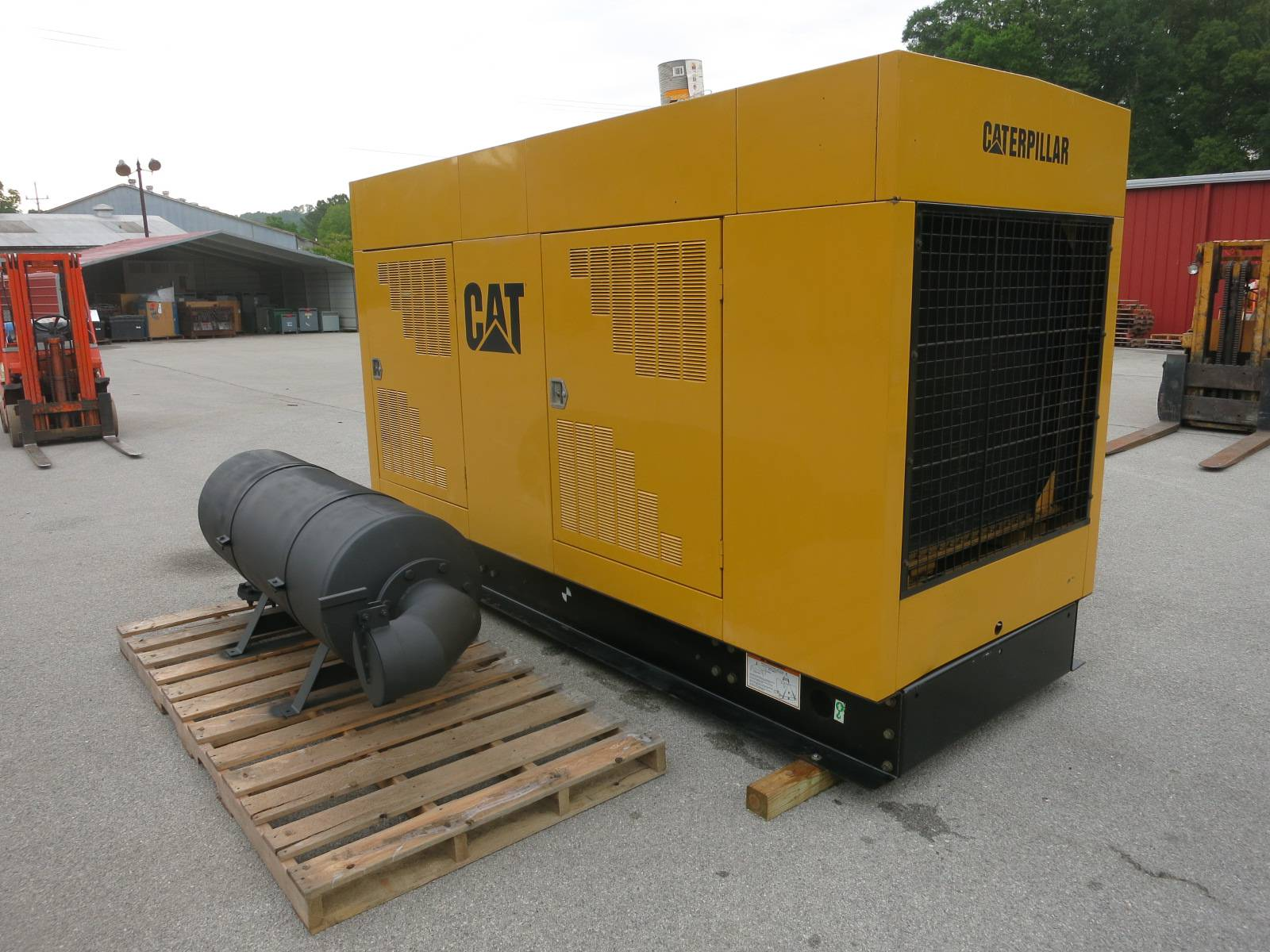 Caterpillar 400 kW CAT 3406 Diesel SR4B Generator Set 809Hrs