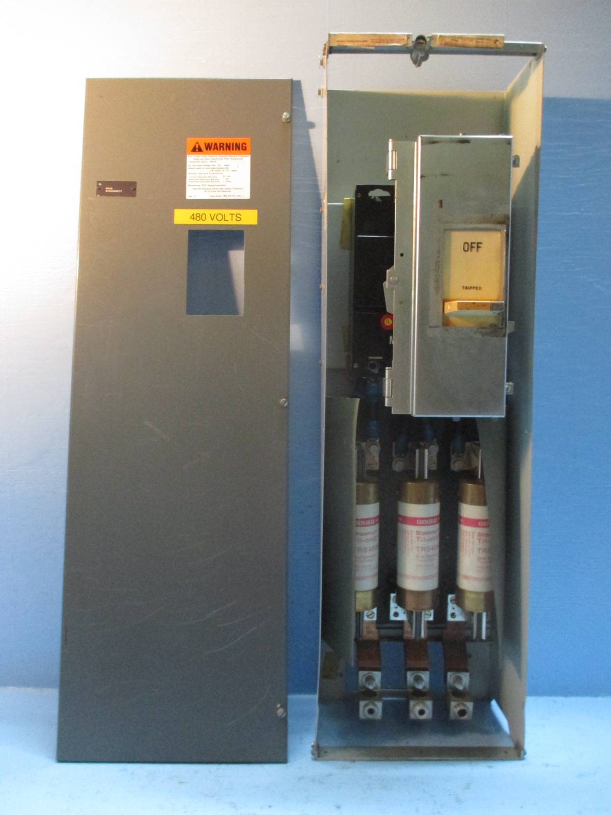 Westinghouse Type W 400 Amp Main Breaker Feeder 42 Motor Control Center Bucket Ebay