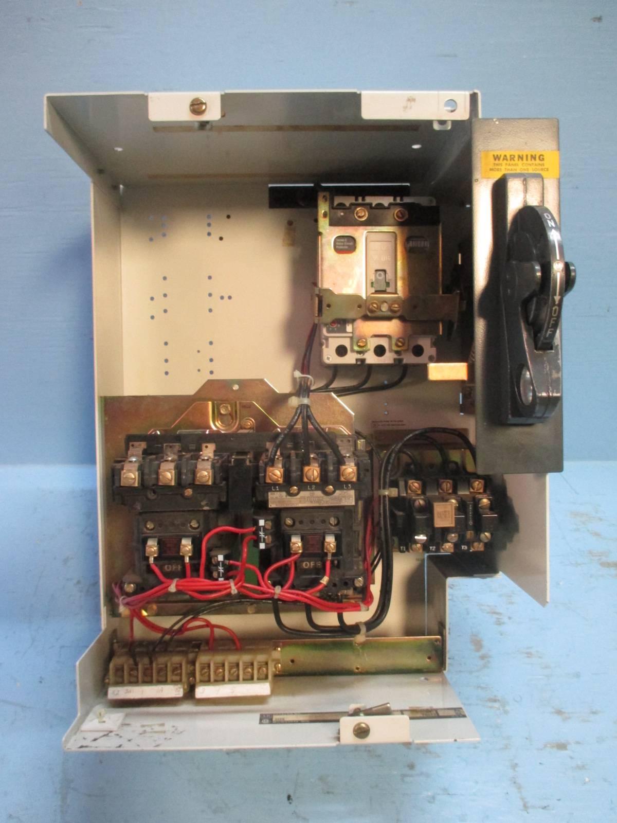 """Allen Bradley 2100 Centerline 18"""" Size 1 Reversing 15 Amp ..."""