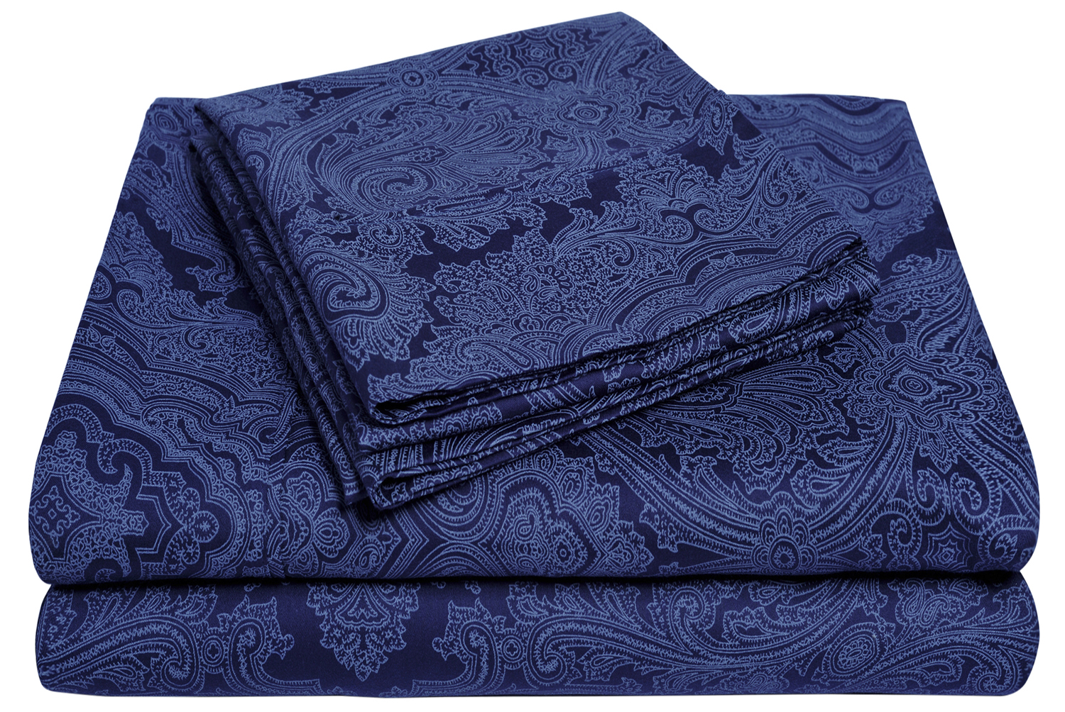 Stylish Italian Paisley Sheet Set With Deep Pocket 600