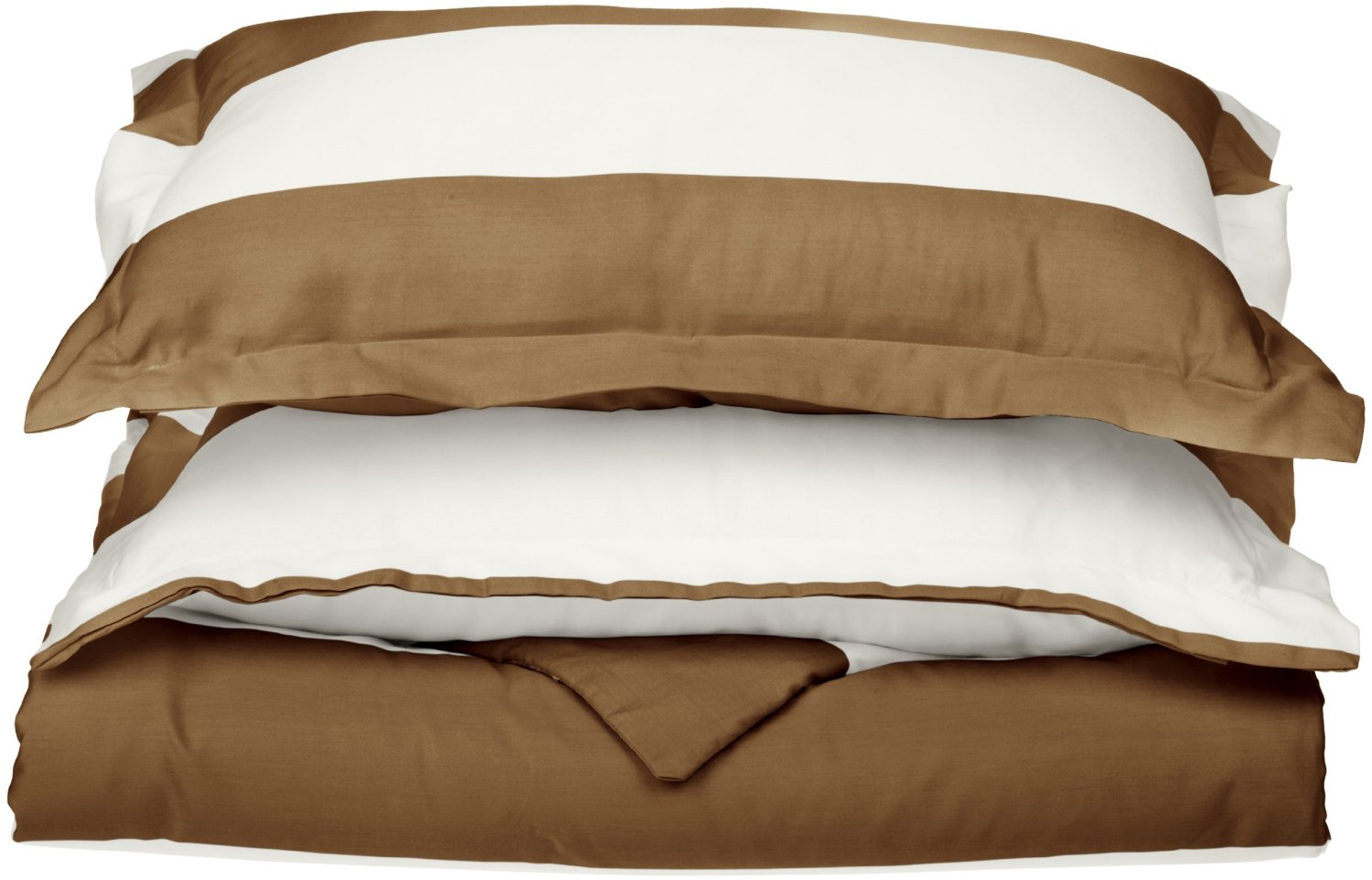 Striped Cabana 600 Thread Count Duvet Cover Set With Shams
