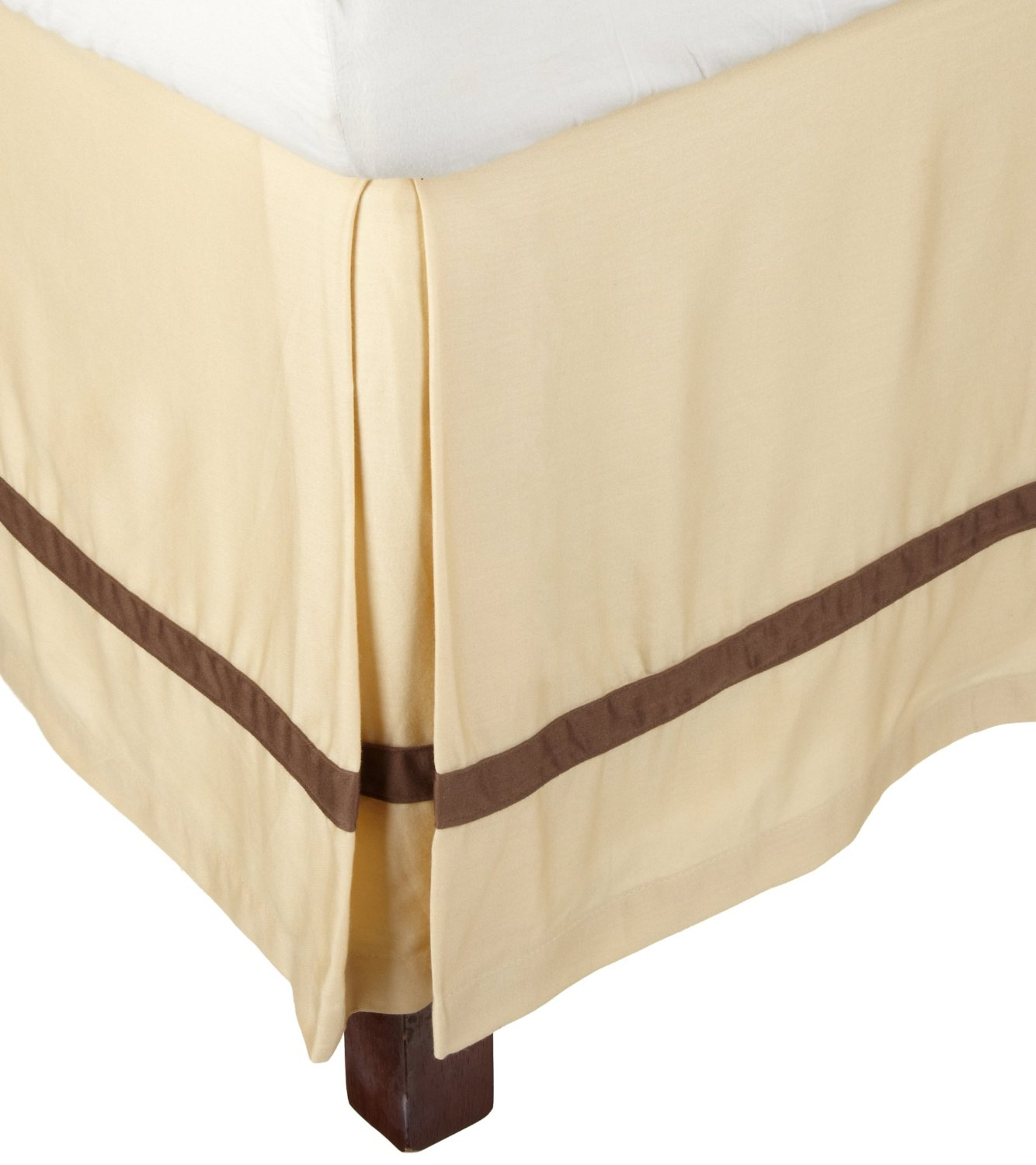 Hotel collection 100 premium cotton bed skirt 300 thread for Luxury hotel 660 collection bed skirt