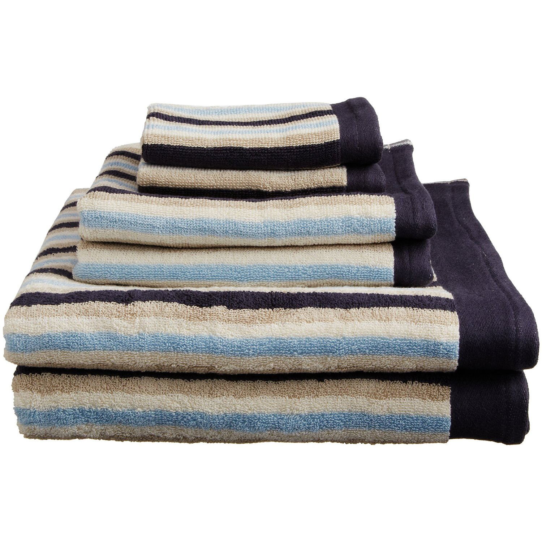 Bathroom Towels Striped