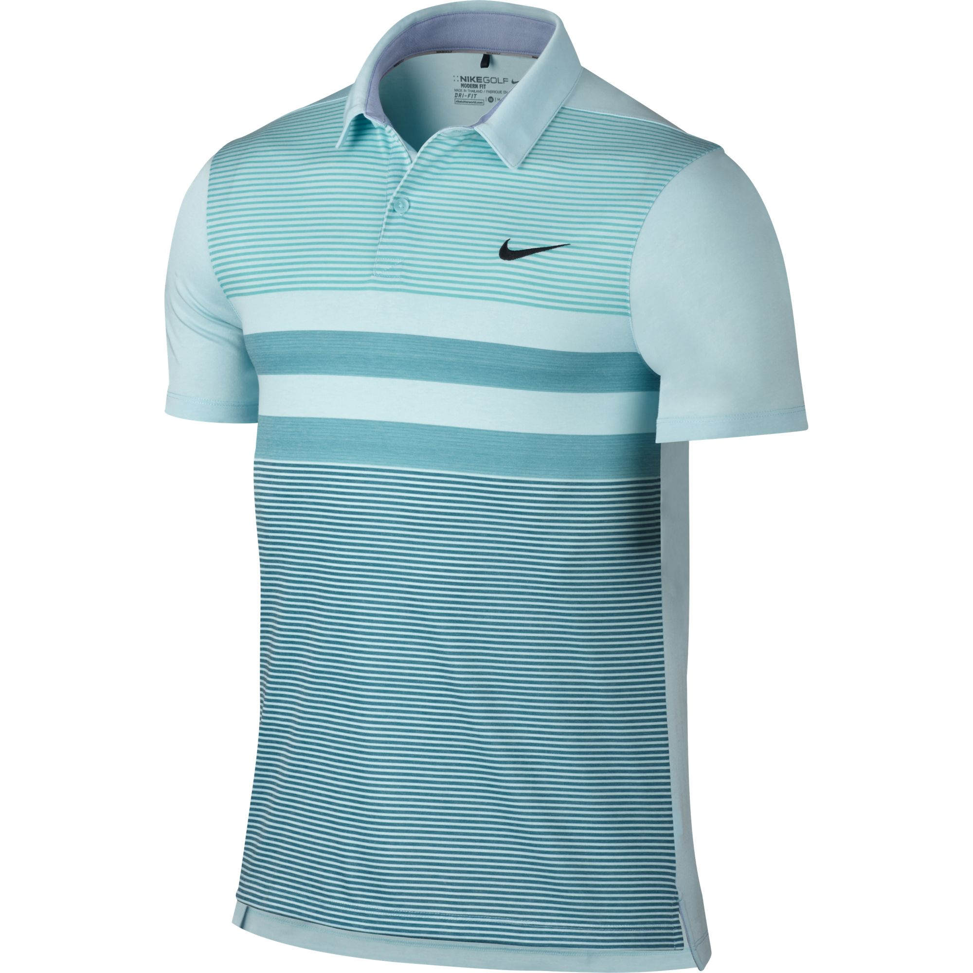2016 nike modern fit transition dry stripe polo men 39 s dri Modern fit golf shirt