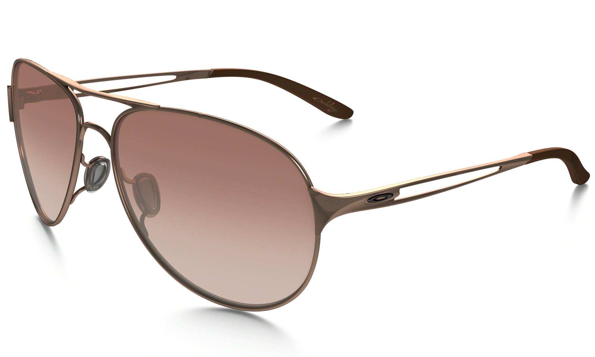 Gold Color Frame Sunglasses : Oakley Sunglasses CAVEAT Rose Gold Frame VR50 Brown ...