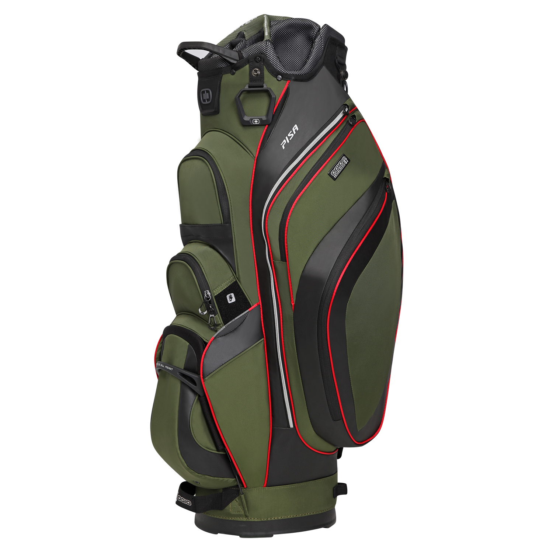 Ogio Pisa Cart Golf Bag New 2016 15 Way Top W 9 Pockets