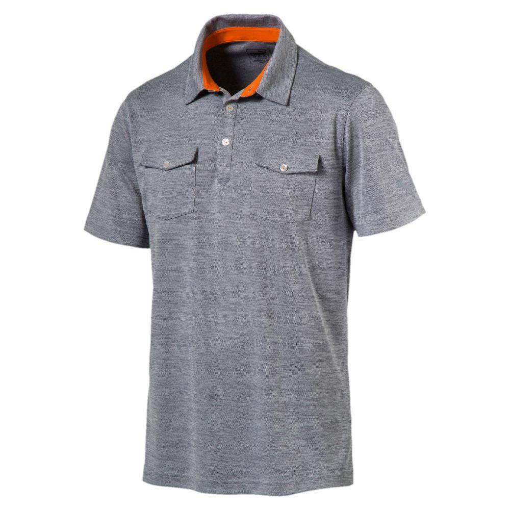 Puma Tailored Double Pocket Polo Mens Golf Shirt 572355