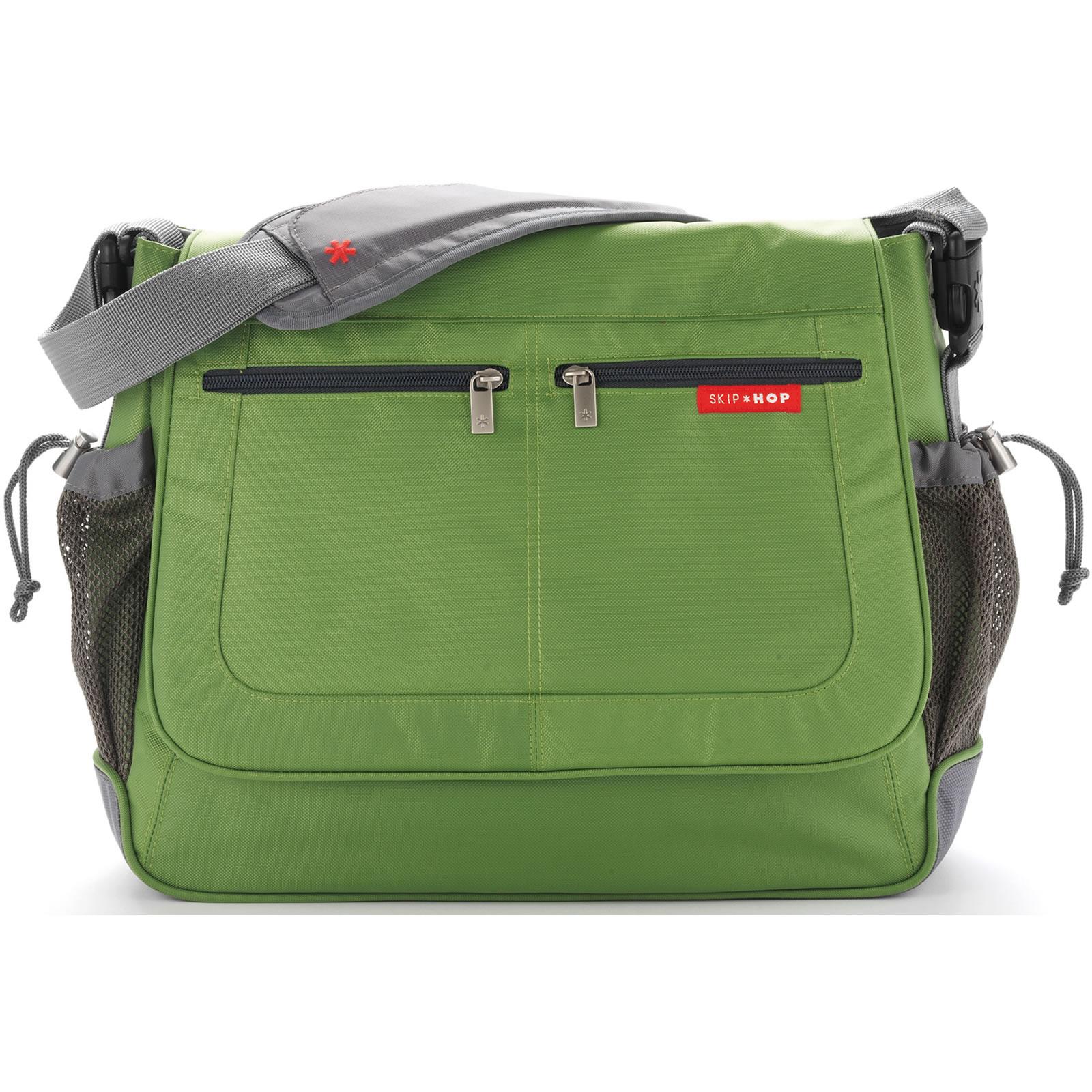 Skip Hop Skip Hop Via Messenger Diaper Bag - Lime