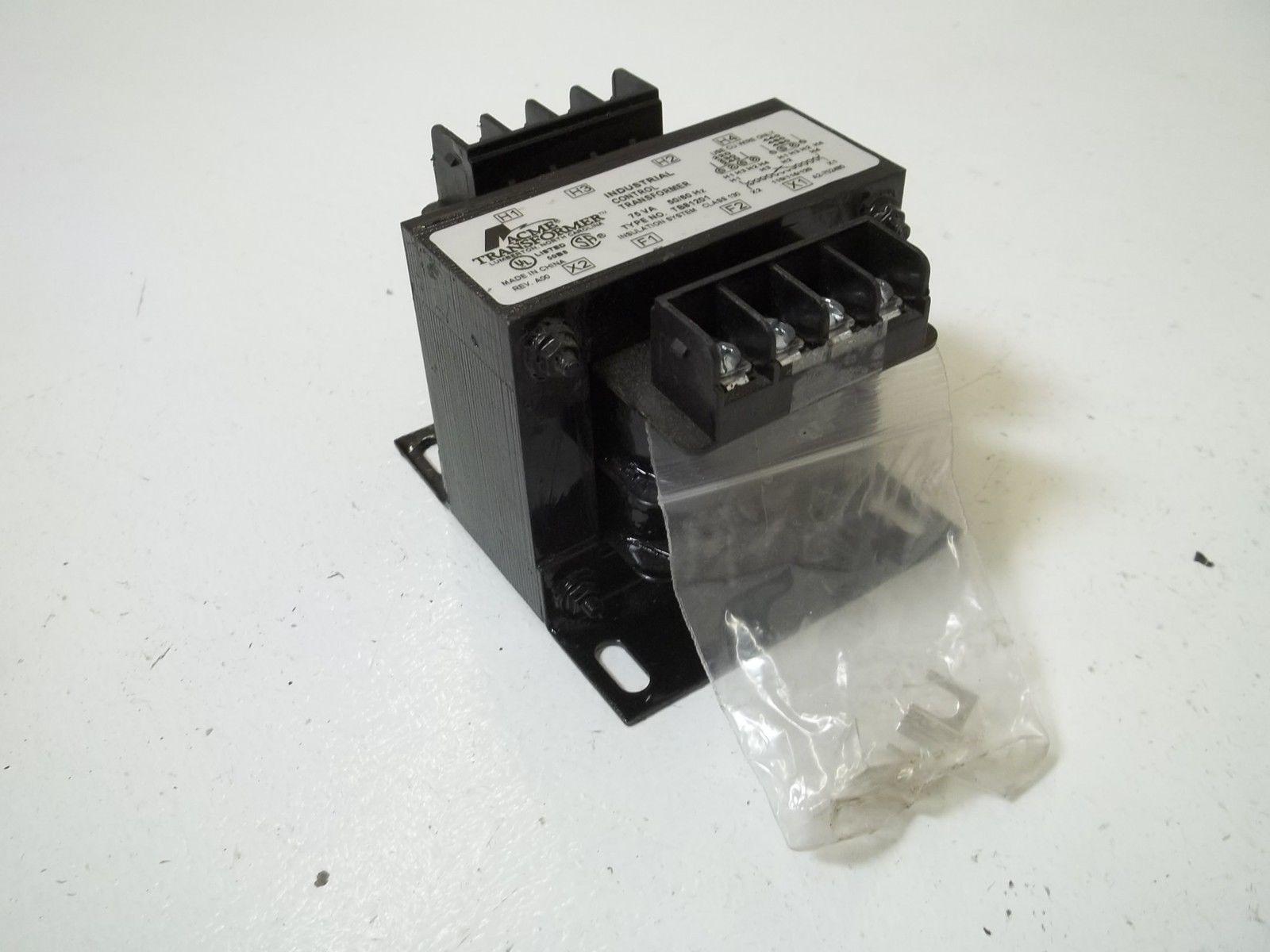 Acme Transformer Tb81201 Industrial Control Transformer