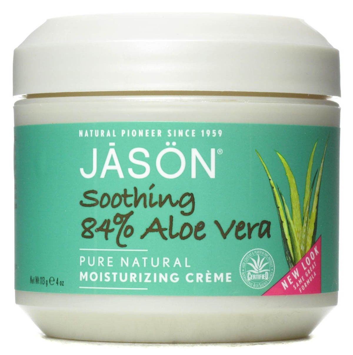 jason 84 aloe vera pure natural moisture cream ebay. Black Bedroom Furniture Sets. Home Design Ideas
