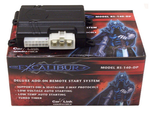 Excalibur add on remote car start kit for ford vehicles
