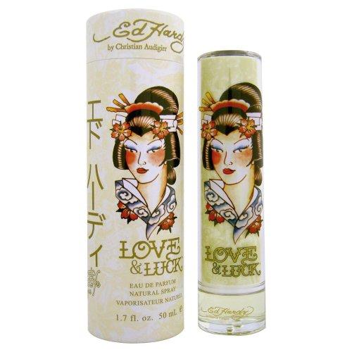 ED HARDY LOVE & LUCK By Ed Hardy 1.7 Oz Eau De Parfum Spray NEW In Box Women 94922912299