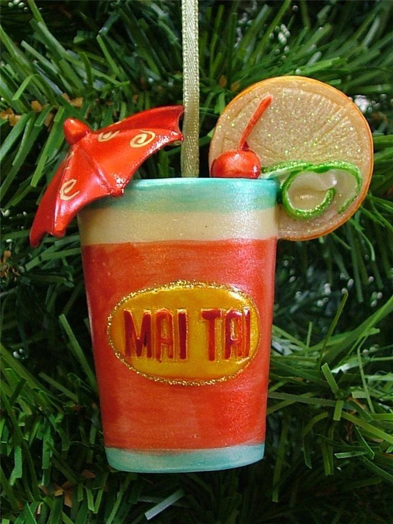 New Mai Tai Tahitiantropical Cocktail Rum Drink Alcohol