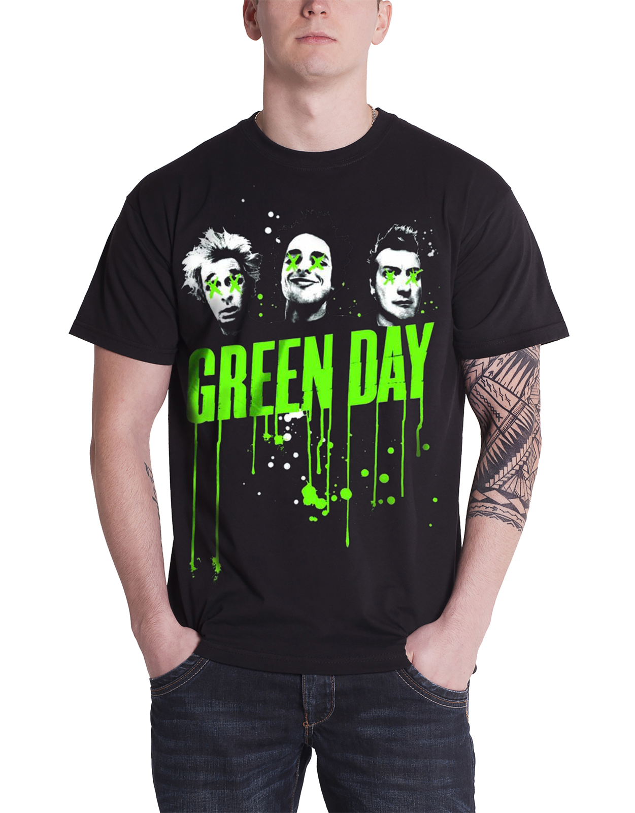 Green Day T Shirt Mens Revolution Radio Dookie Welcome To