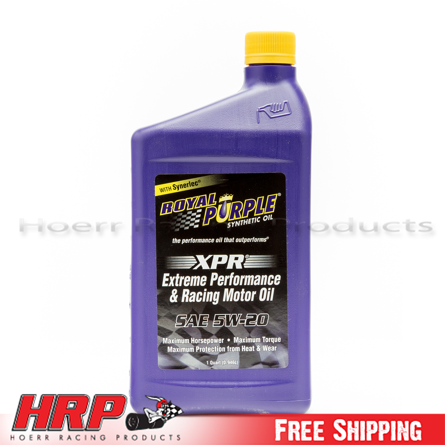 Royal Purple 01011 5w 20 Xpr Multi Grade Racing Oil 1