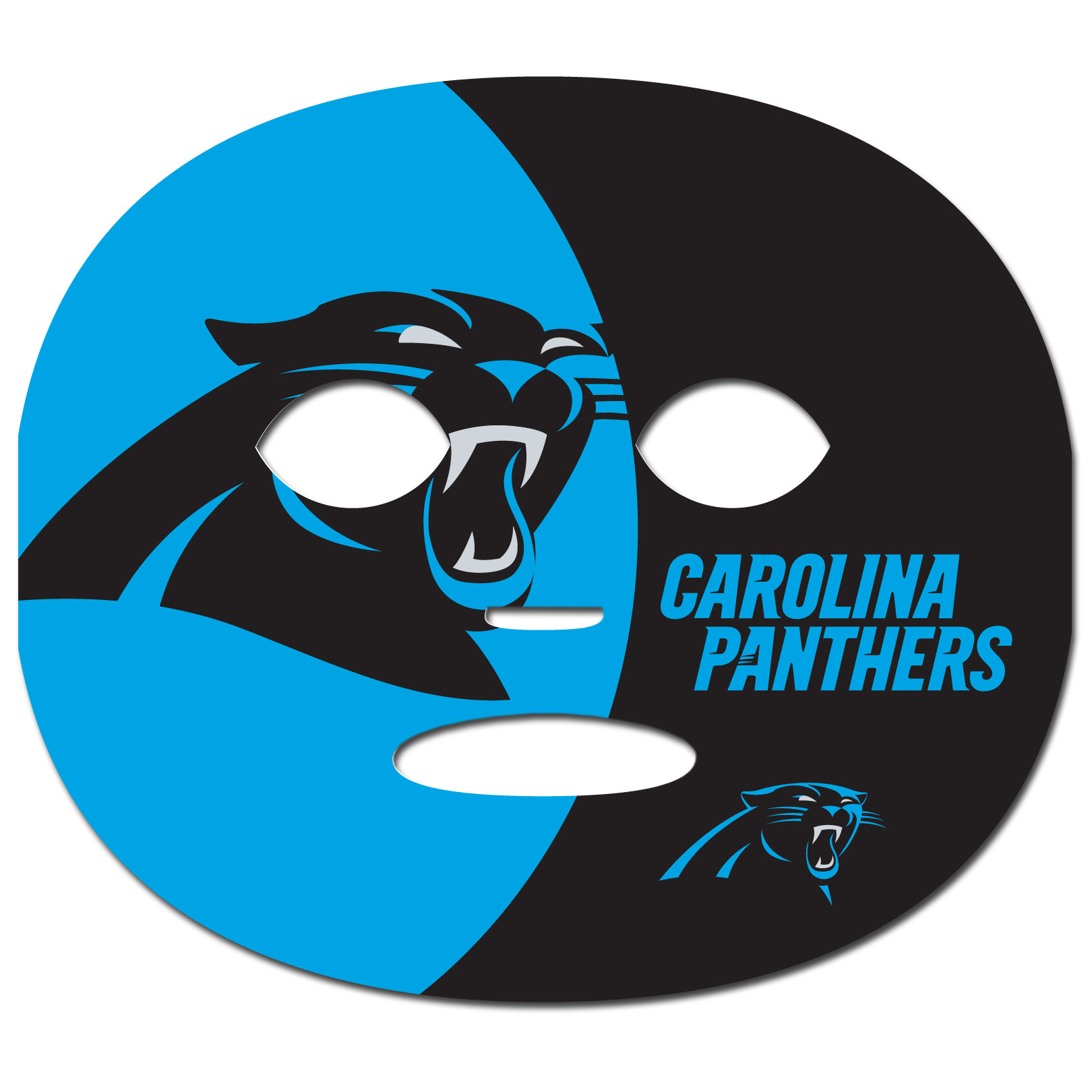 Nfl gameday face temporary tattoo choose your team ebay for Carolina panthers tattoos