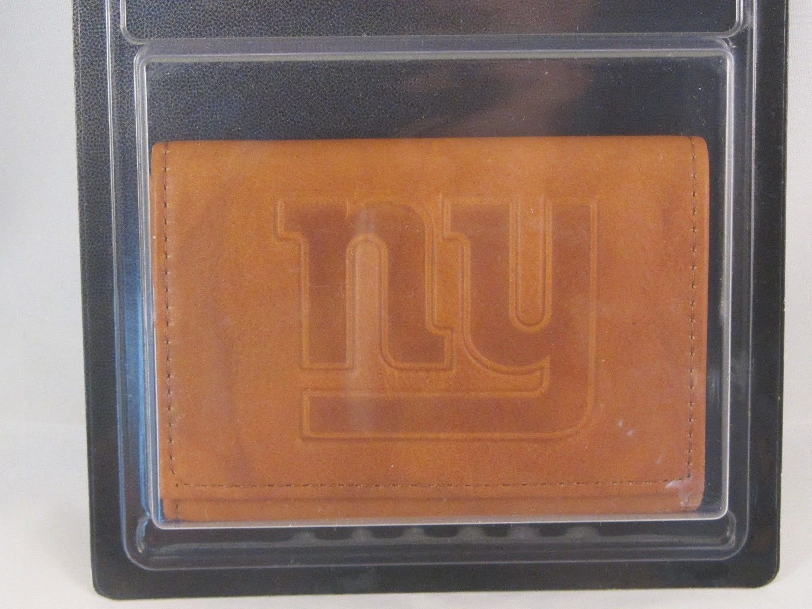 Official NFL Leather Wallet TriFold Embossed Choose Your Team