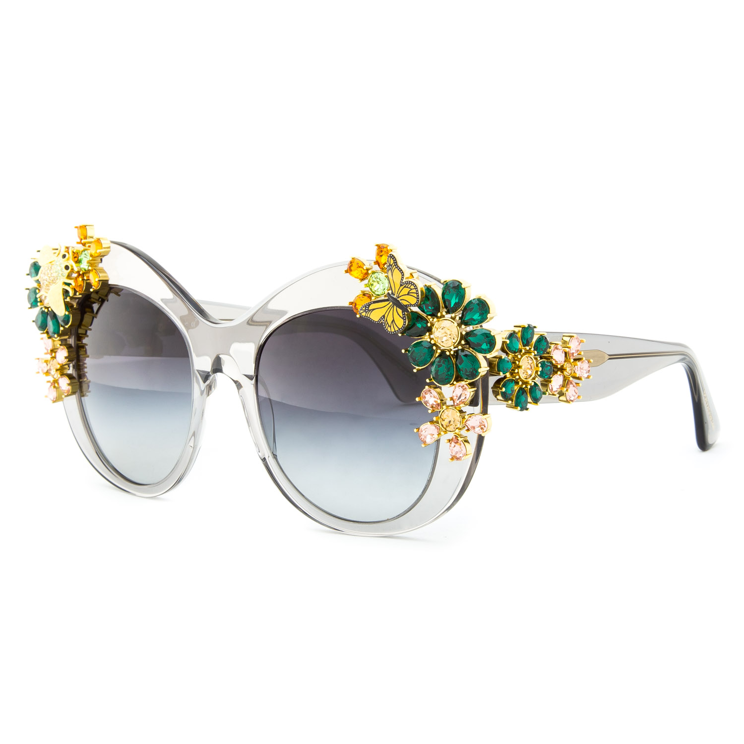 dolce and gabbana gold flower sunglasses. Black Bedroom Furniture Sets. Home Design Ideas