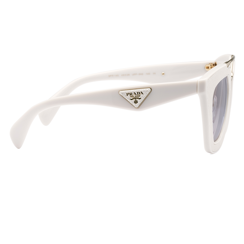 Prada White Frame Glasses : Prada 14SS Womens Sunglasses UFP3H2 Ivory White Frame ...