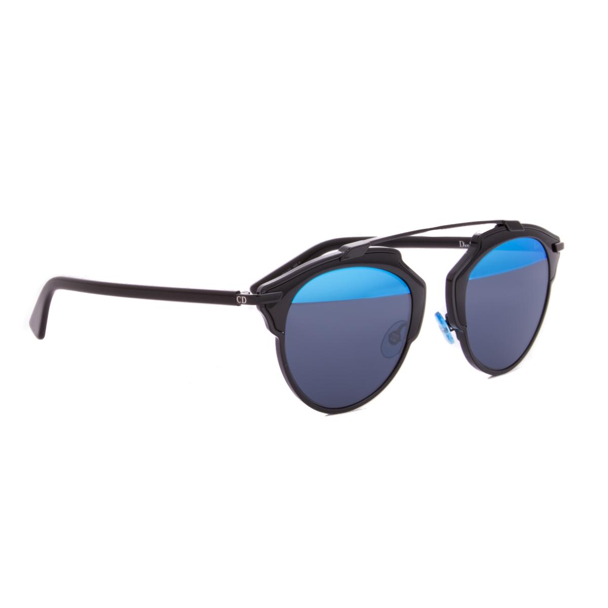 Dior Black Frame Glasses : Christian Dior Sunglasses Dior So Real B0YY0 Black Frame ...