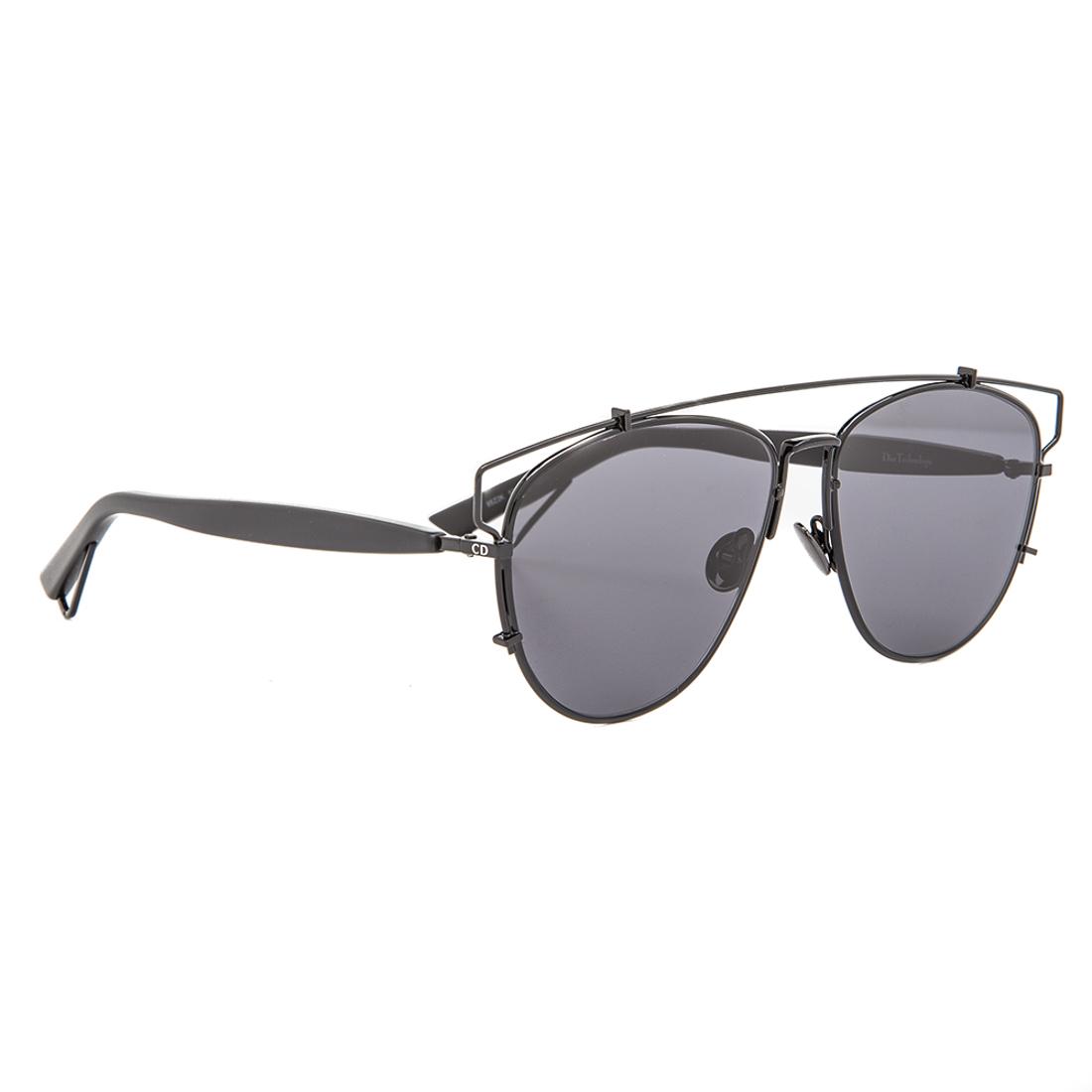 Dior Black Frame Glasses : Dior Technologic Aviator Sunglasses 65Z2K Black Frame ...