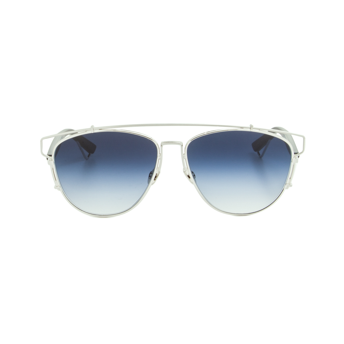 Glasses Gradient Frame : Dior Technologic Womens Aviator Sunglasses 84J84 Silver ...