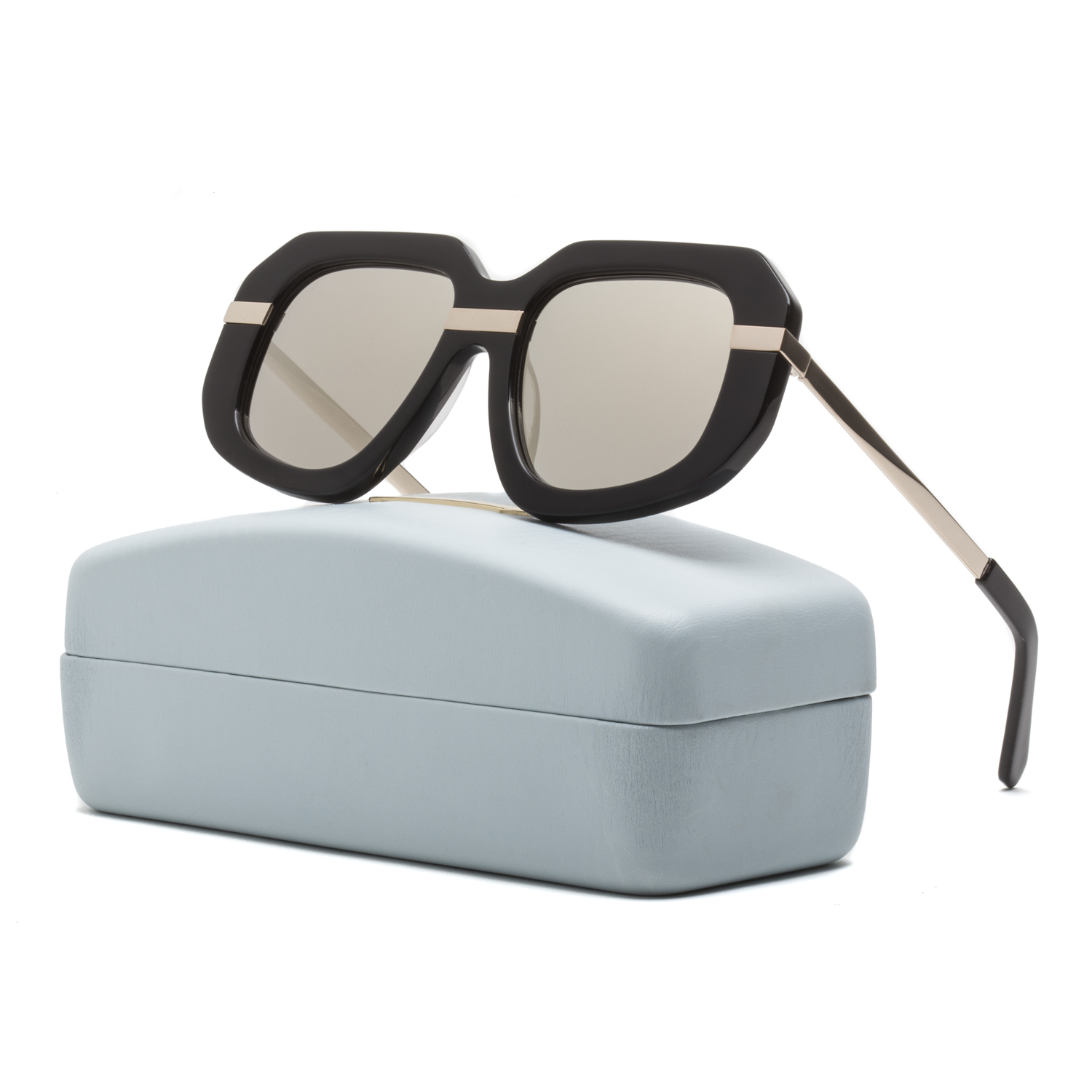 Karen Walker Superstars Creeper Womens Sunglasses Black ...