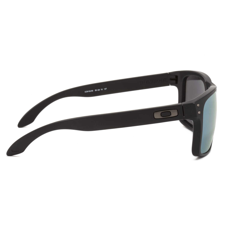 black oakley holbrook sunglasses ay24  Oakley-Holbrook-Sunglasses-OO9102-50-Matte-Black-Emerald
