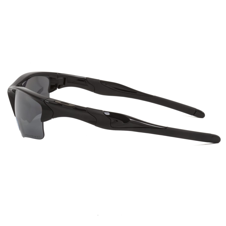 oakley sunglasses half jacket 2.0  oakley half jacket 2.0 xl sunglasses oo9154 05 polished black / black polarized