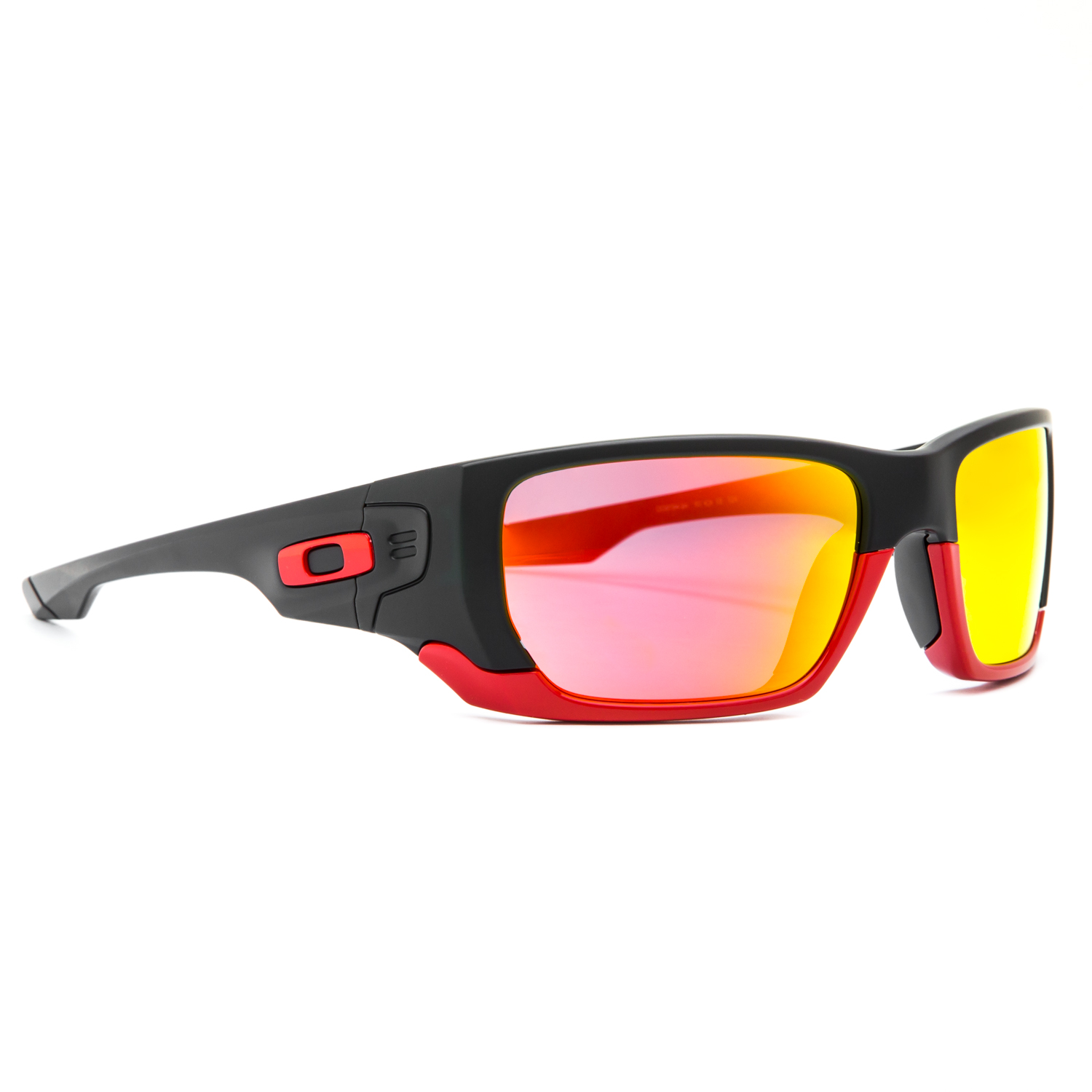 red and black oakleys  Oakley Limited Edition Scuderia Ferrari Style Switch Sunglasses ...