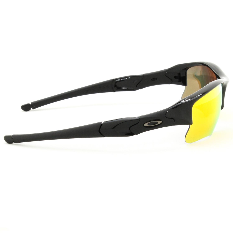 oakley flak jacket xlj polished  oakley flak jacket xlj sunglasses oo9009 03 899 polished black / fire iridium