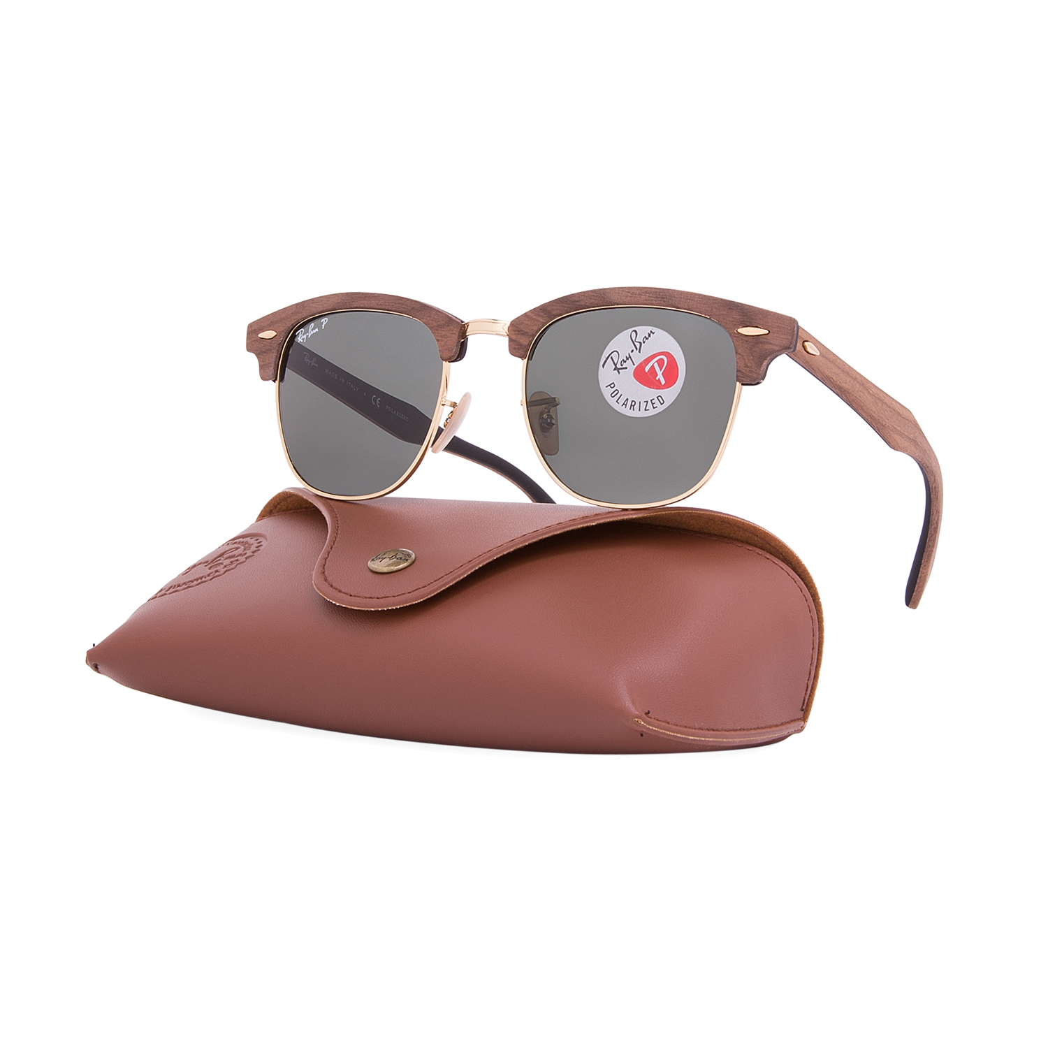 f2ddf38235 ray ban clubmaster rb3016 polarized
