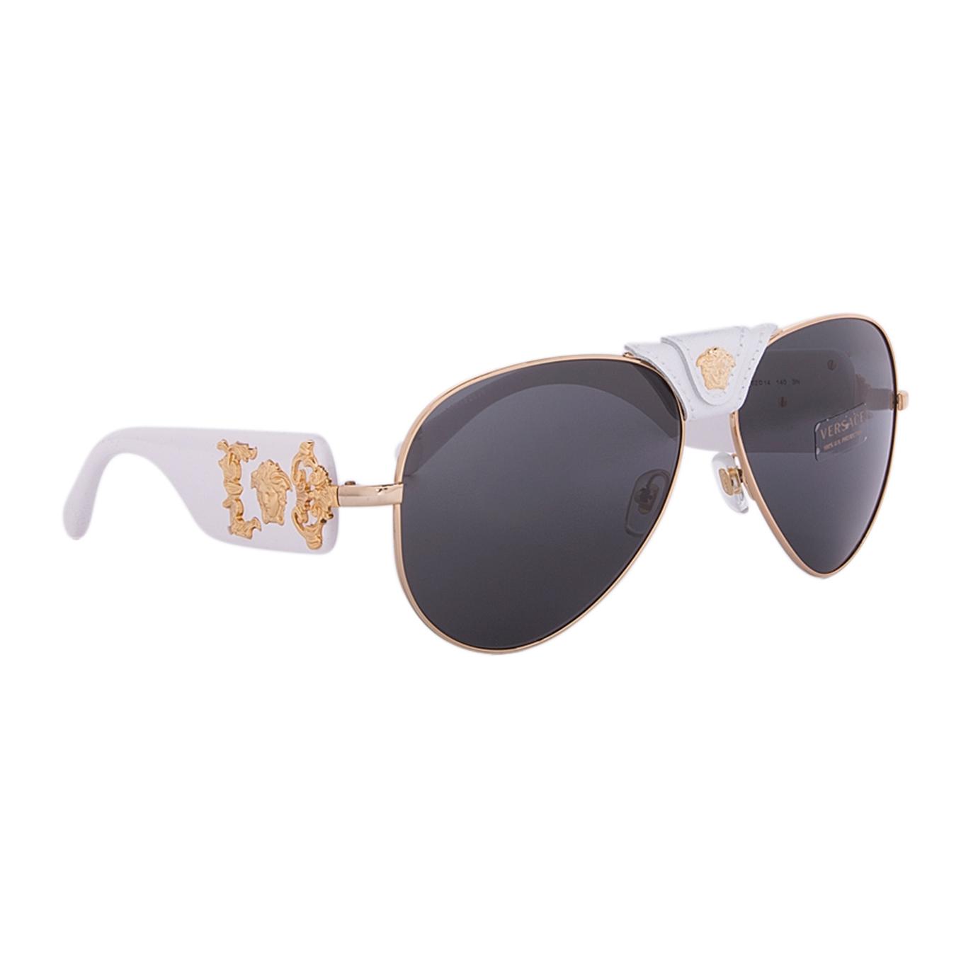 d83d2965655a Versace Gold Frame Sunglasses