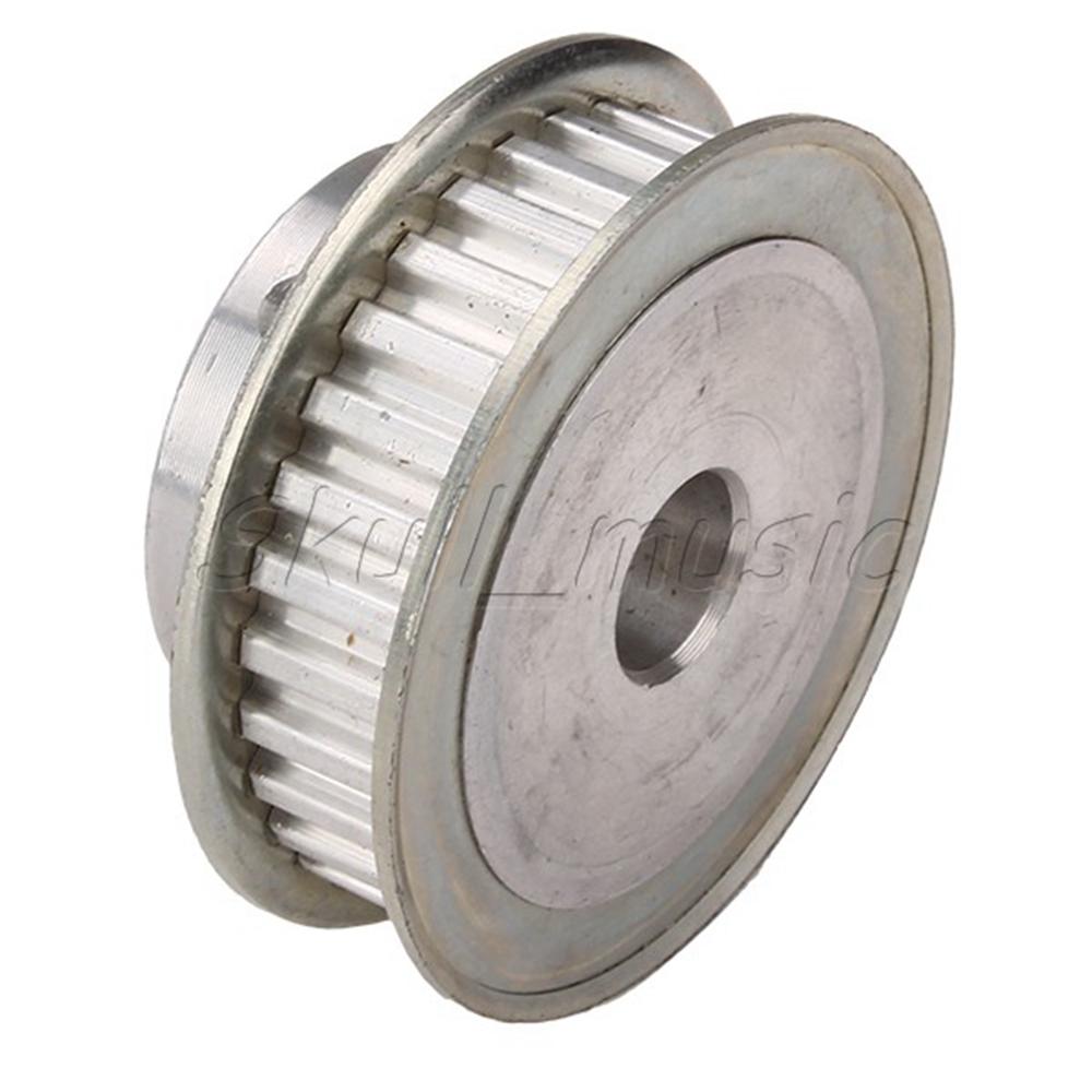 Xl Pulleys And Belts : Xl aluminum timing belt pulley teeth mm stepper motor