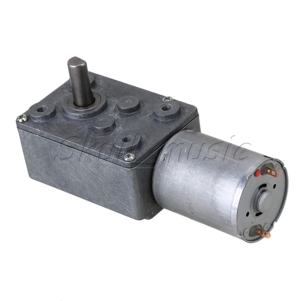 Dc 12v 34rpm Electric Power High Torque Turbo Reducer