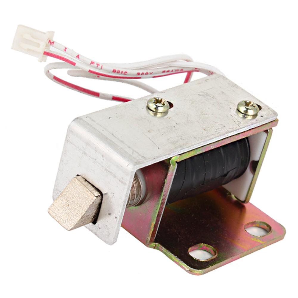 schrankt r elektroschloss montage magnet dc6v quadrat kegel latch ebay. Black Bedroom Furniture Sets. Home Design Ideas