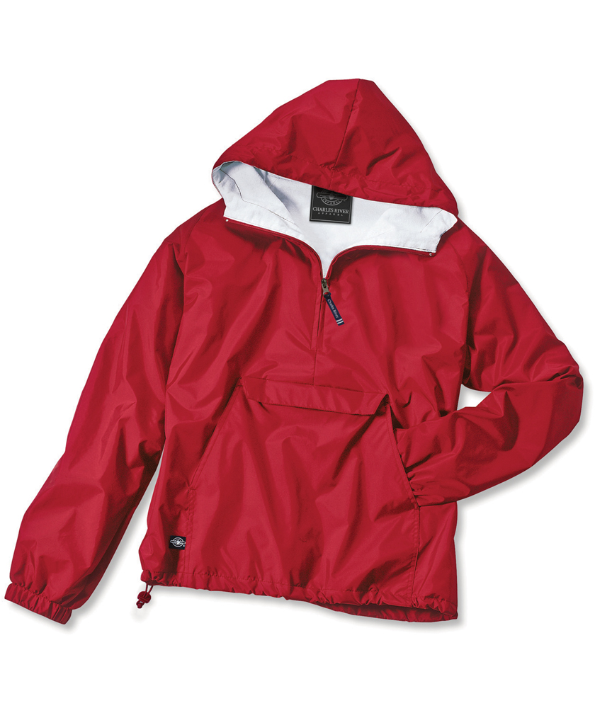 Charles River Apparel Classic Solid Pullover - Red at Sears.com