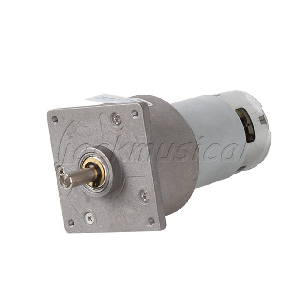 High Torque 24v Dc 10 Rpm Gear Box Electric Motor