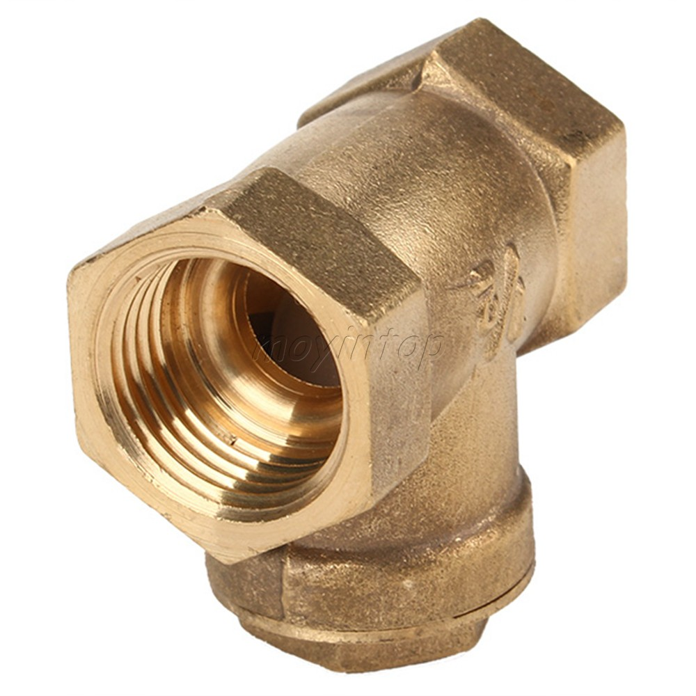 Brass-1-2-DN-20mm-Water-Threaded-Swing-Check-Valve