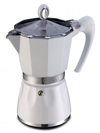 Stovetop Coffee Maker Handle : GTA Bella - Stove Top Espresso Coffee Maker - Ergonomic Handle - Aluminium eBay