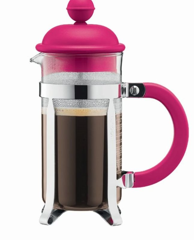 White French Press Coffee Maker : Bodum - French press coffee maker with Plastic Lid - Off white - Various Sizes eBay