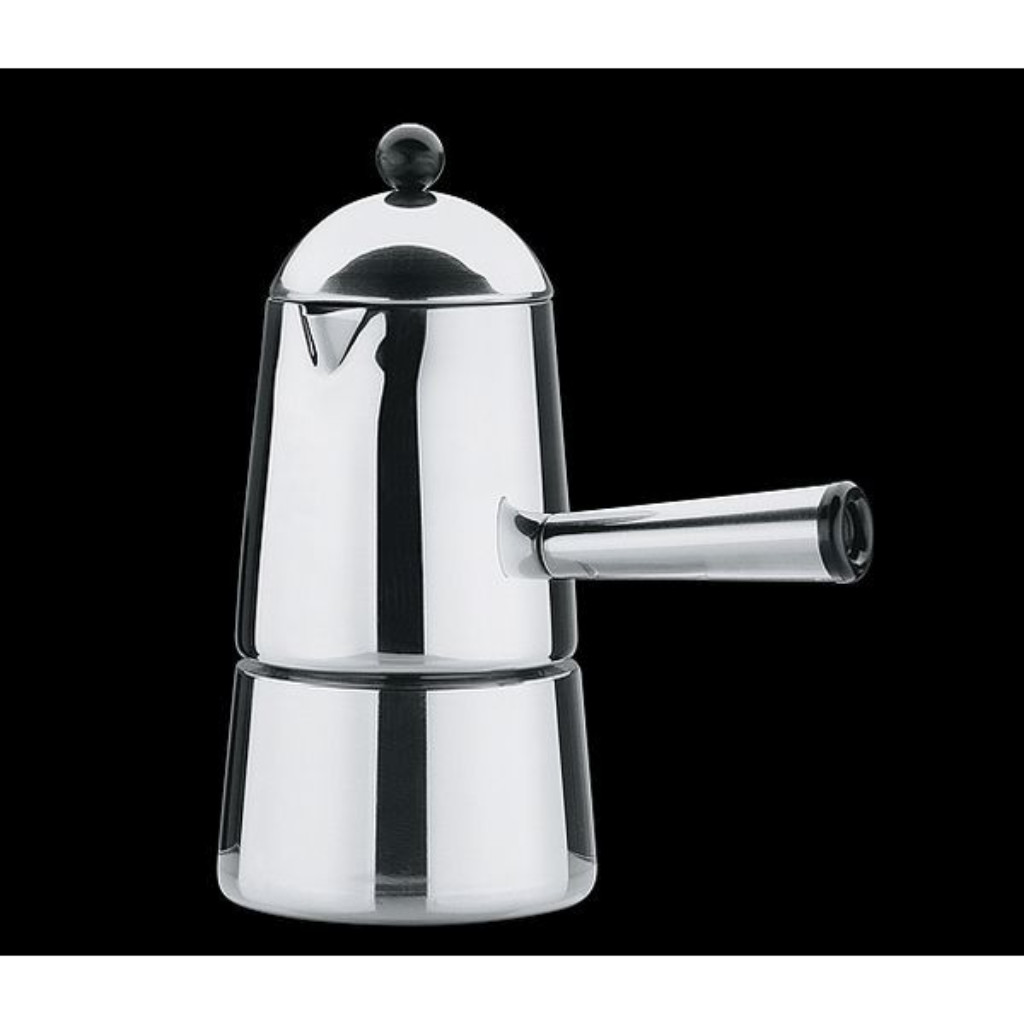 Italian Coffee Maker Stainless Steel : Cilio Cita 3 Cup Stainless Steel Stove Top Italian Coffee Maker eBay