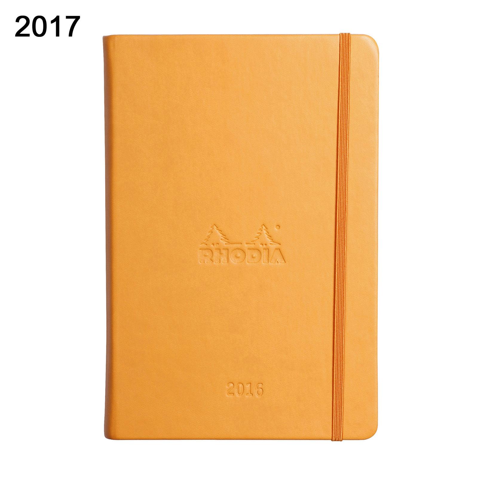 Rhodia 2017 Weekly Webplanner Notebook 6 1 4 X 9 3 8
